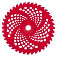 Нож к мотокосе Vitals 40-зубчатый из нержавеющей стали (красный)