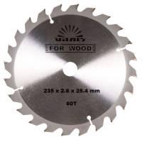 Диск отрезной Vitals for wood 60T 235x2.6x25.4mm