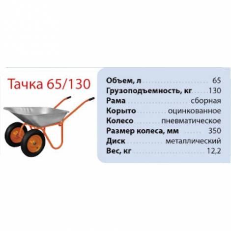Садовая тачка VITALS 65/130