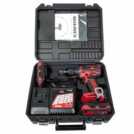 Дрель-шуруповерт аккумуляторная Vitals Professional AUpc 18/2tli Brushless kit