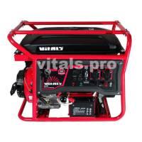 Бензиновий генератор Vitals JBS 6.0ba ATS