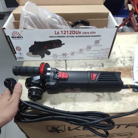 Угловая шлифовальная машина Vitals Professional Ls1212DUv ultra slim