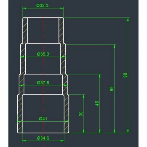 Адаптер для електроінструменту Vitals AE 35SP