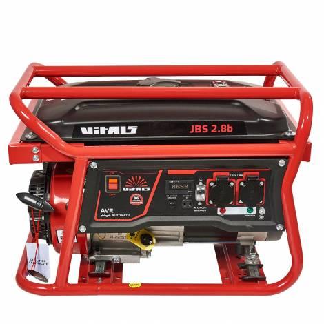 Бензиновий генератор Vitals JBS 2.8b