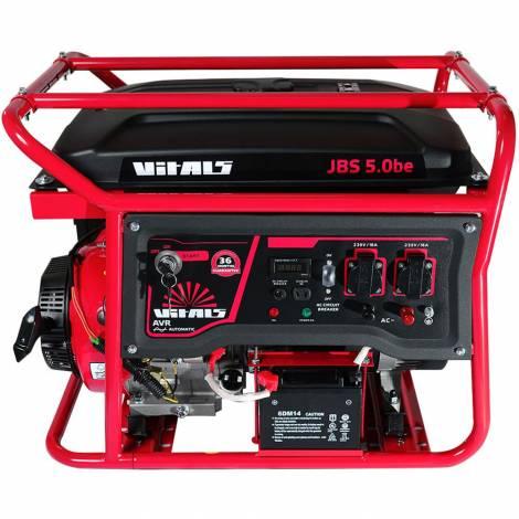 Бензиновий генератор Vitals JBS 5.0be